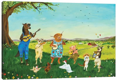 Horace & The Dirty Haunches Canvas Art Print