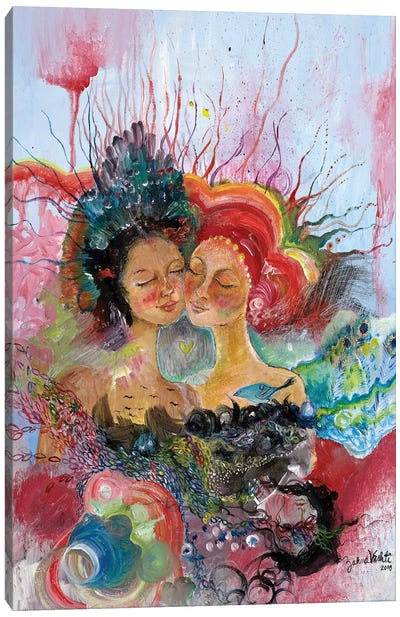 BFF Canvas Art Print