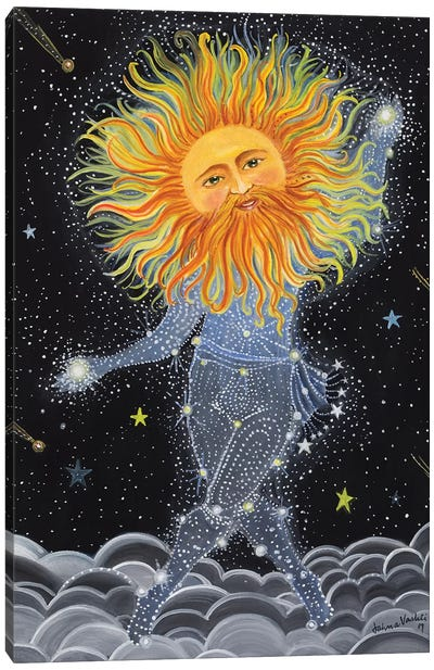 Brother Sun Canvas Art Print