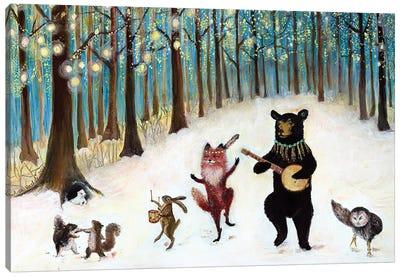 Forest Festivities Canvas Art Print