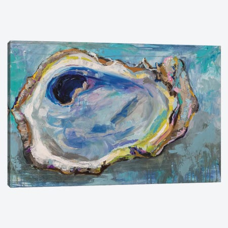 Oyster Two Canvas Print #JVE102} by Jeanette Vertentes Canvas Artwork