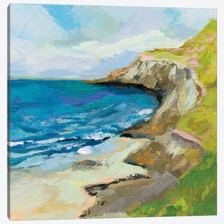 The Bluffs Canvas Print #JVE106} by Jeanette Vertentes Canvas Art Print