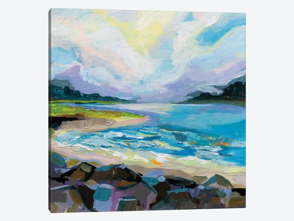 The Coastline by Jeanette Vertentes 1-piece Canvas Art Print