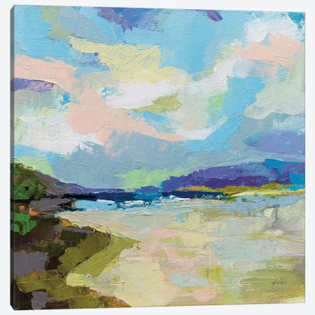 The Shore Canvas Print #JVE108} by Jeanette Vertentes Canvas Art