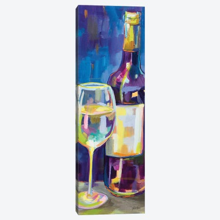 Floral Party II Canvas Print #JVE109} by Jeanette Vertentes Canvas Artwork