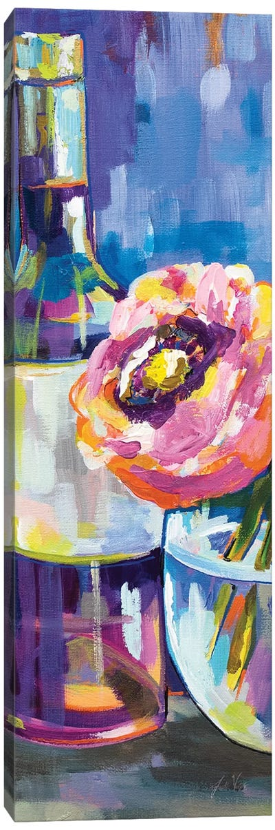 Floral Party III Canvas Art Print