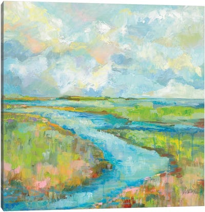 Marsh Canvas Art Print