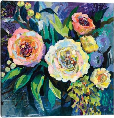 Walk in the Garden Canvas Art Print