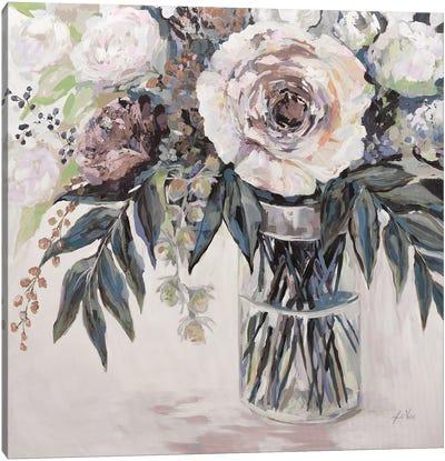 Elation Greige Canvas Art Print