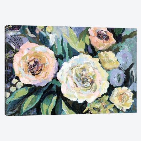 Walk in the Garden Neutral Crop Canvas Print #JVE117} by Jeanette Vertentes Canvas Artwork
