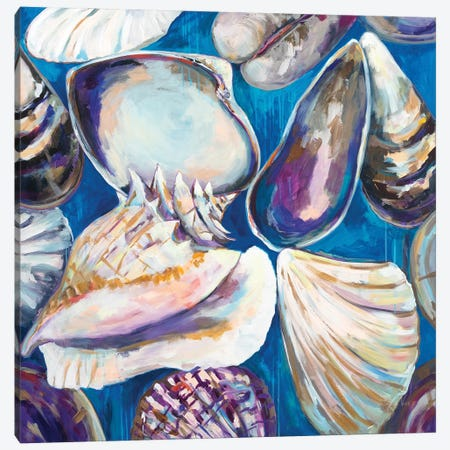 From the Beach Canvas Print #JVE120} by Jeanette Vertentes Canvas Wall Art