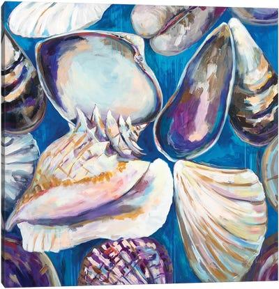 From the Beach Canvas Art Print