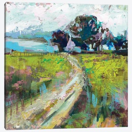 The Meadow v2 Canvas Print #JVE121} by Jeanette Vertentes Canvas Art