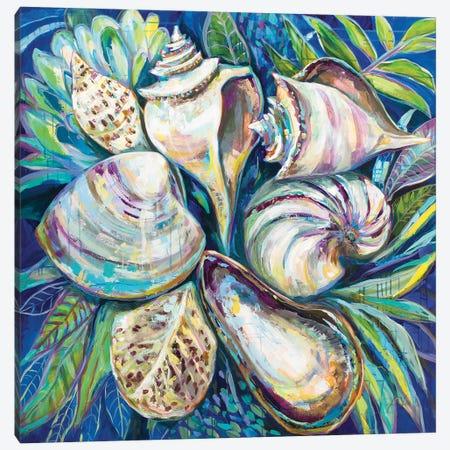 Tropical Canvas Print #JVE122} by Jeanette Vertentes Canvas Wall Art