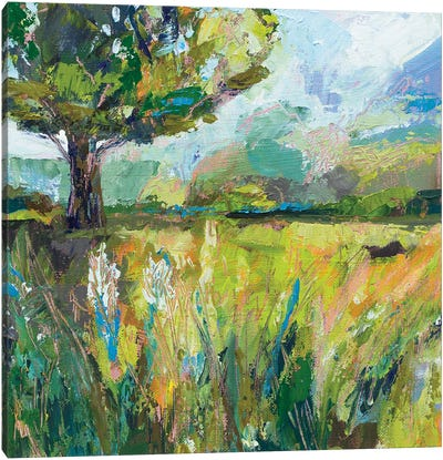 Wildflowers v2 Canvas Art Print