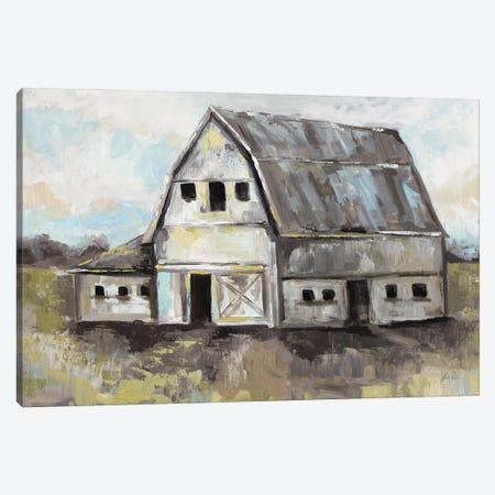 Tranquil Barn Canvas Print #JVE125} by Jeanette Vertentes Art Print