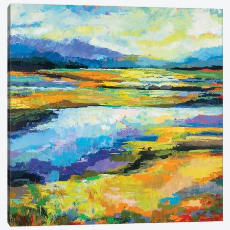 Fall Marsh Canvas Print #JVE130} by Jeanette Vertentes Canvas Art Print