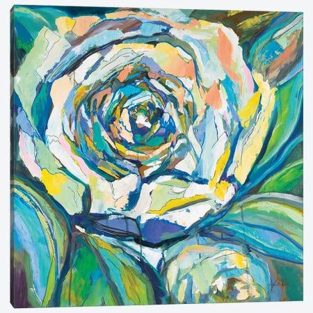 Rose Canvas Print #JVE137} by Jeanette Vertentes Canvas Wall Art
