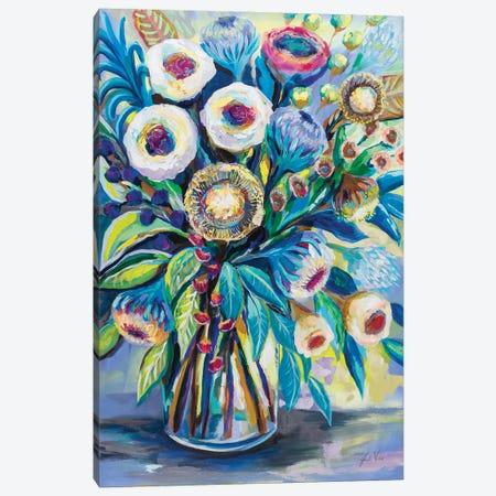 Bountiful Bouquet Canvas Print #JVE142} by Jeanette Vertentes Canvas Artwork