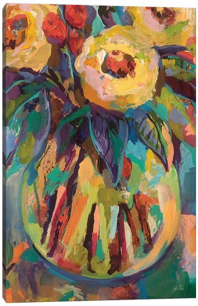 Round Vase Canvas Art Print