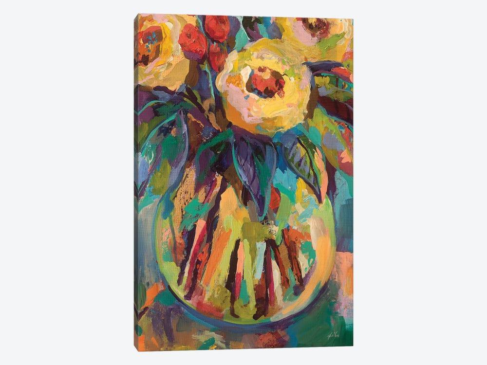 Round Vase by Jeanette Vertentes 1-piece Canvas Art Print