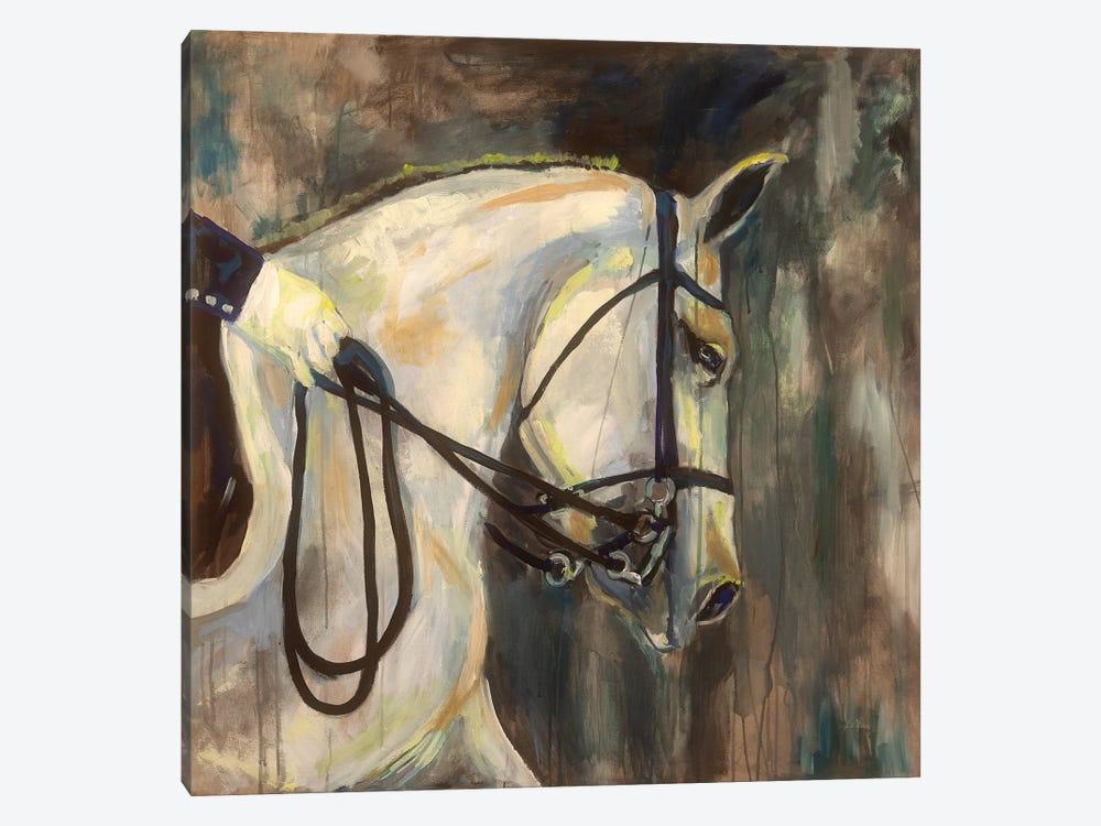 Dressage by Jeanette Vertentes 1-piece Canvas Art Print