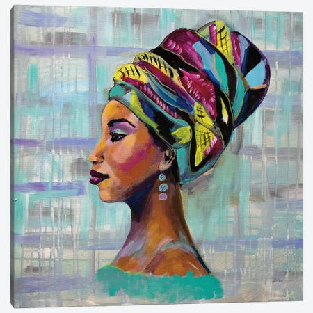 Fierce Canvas Print #JVE30} by Jeanette Vertentes Canvas Print