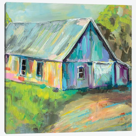 Going to the Country I 3-Piece Canvas #JVE32} by Jeanette Vertentes Canvas Art Print