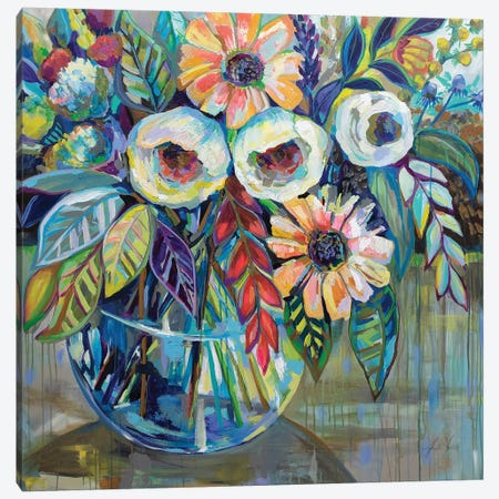 Joy Canvas Print #JVE33} by Jeanette Vertentes Art Print