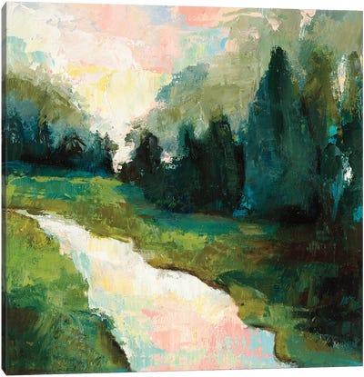 River Walk Canvas Art Print