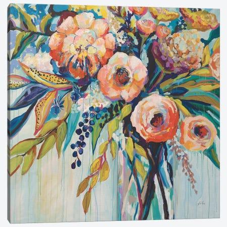 Color Celebration 3-Piece Canvas #JVE3} by Jeanette Vertentes Canvas Art