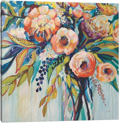 Color Celebration Canvas Art Print