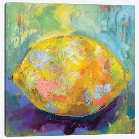 Lemon Canvas Print #JVE44} by Jeanette Vertentes Canvas Art Print
