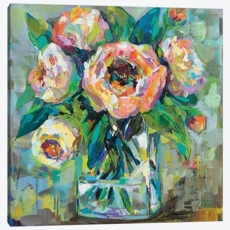 Pink Canvas Print #JVE48} by Jeanette Vertentes Canvas Wall Art