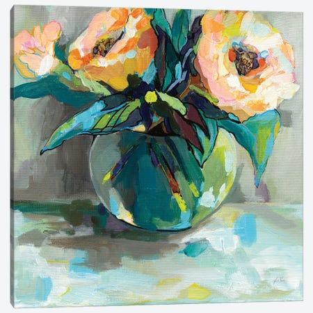 Pink Ladies Canvas Print #JVE49} by Jeanette Vertentes Canvas Artwork