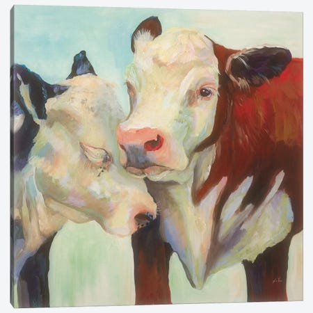 In Love Canvas Print #JVE4} by Jeanette Vertentes Canvas Art Print