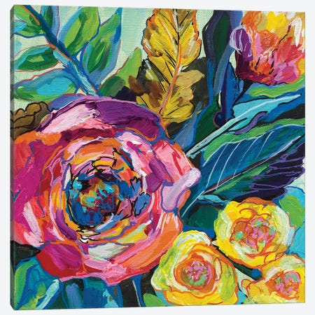 Pop Canvas Print #JVE50} by Jeanette Vertentes Canvas Print