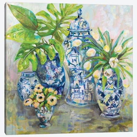 Spring Ginger Canvas Print #JVE53} by Jeanette Vertentes Canvas Art Print