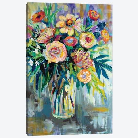 Summer Happiness Canvas Print #JVE54} by Jeanette Vertentes Canvas Artwork