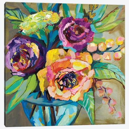 Coffee Break Canvas Print #JVE62} by Jeanette Vertentes Canvas Art