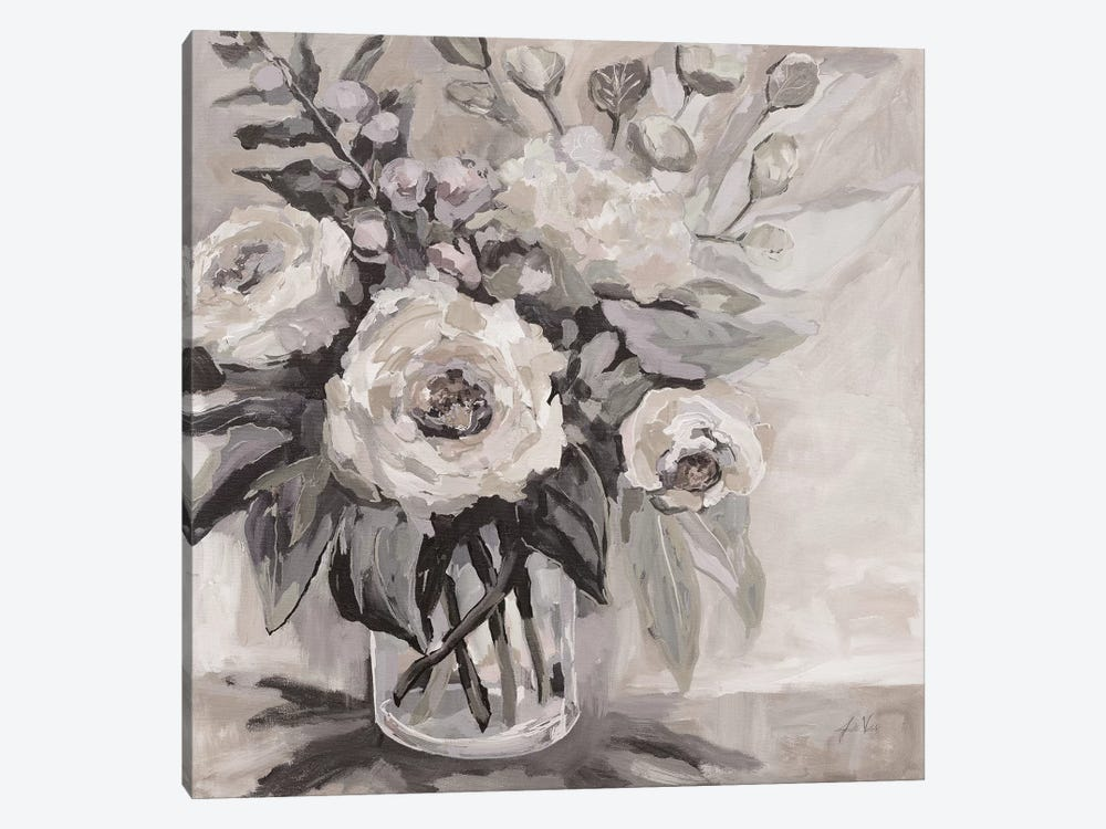 Delighted Neutral by Jeanette Vertentes 1-piece Art Print