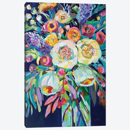 Lilys Bouquet Canvas Print #JVE74} by Jeanette Vertentes Canvas Art