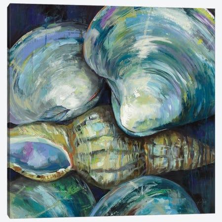 New England Summer 3-Piece Canvas #JVE76} by Jeanette Vertentes Canvas Artwork