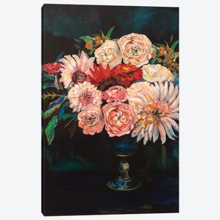 Newport Bouquet v2 Canvas Print #JVE77} by Jeanette Vertentes Canvas Artwork
