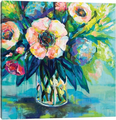 Vibrance Canvas Art Print