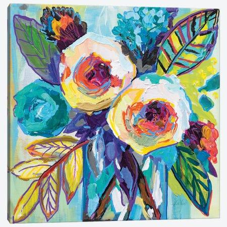 Bahamas Morning Canvas Print #JVE79} by Jeanette Vertentes Art Print