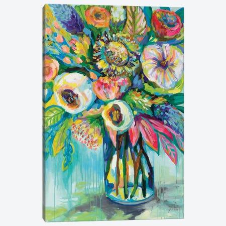 Color Burst Canvas Print #JVE80} by Jeanette Vertentes Canvas Artwork