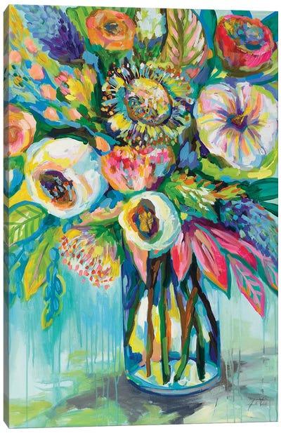 Color Burst Canvas Art Print