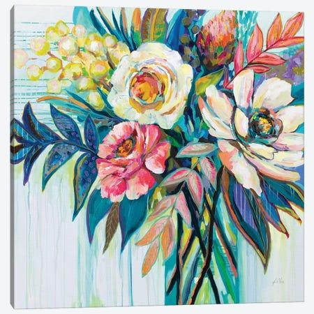 First Date Canvas Print #JVE86} by Jeanette Vertentes Art Print