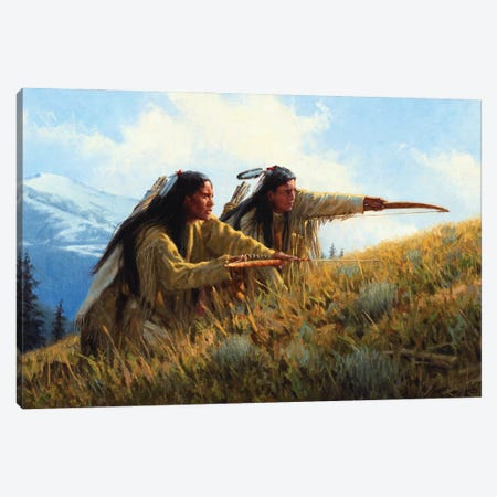 Approach Of The Great Bear Canvas Print #JVL10} by Joe Velazquez Canvas Artwork